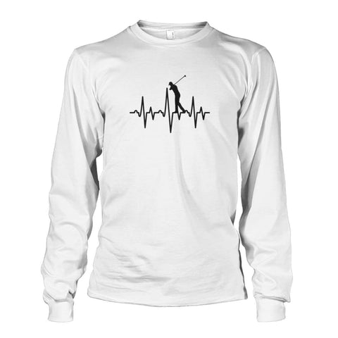 Image of One With Golf Long Sleeve - White / S / Unisex Long Sleeve - Long Sleeves
