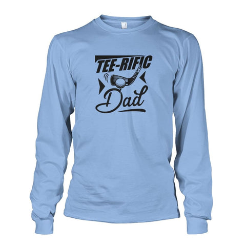 Image of Tee-Rific Dad Long Sleeve - Light Blue / S / Unisex Long Sleeve - Long Sleeves