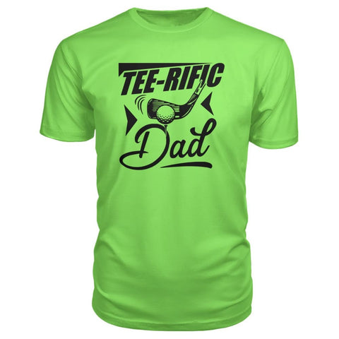 Image of Tee-Rific Dad Premium Tee - Key Lime / S / Premium Unisex Tee - Short Sleeves