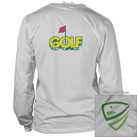 Image of Golf Master Back Design