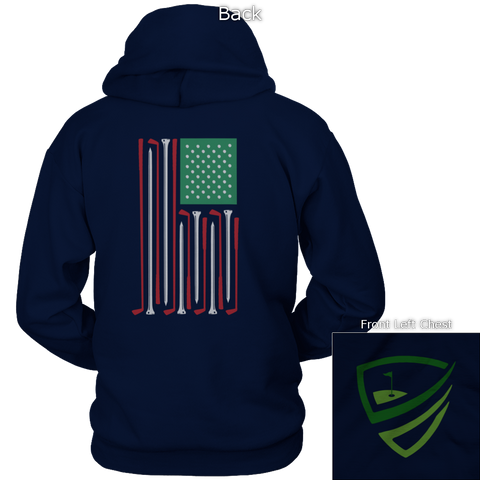 Image of Golf Flag Back Design