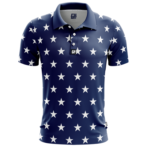 Image of Stars No Bars Golf Polo