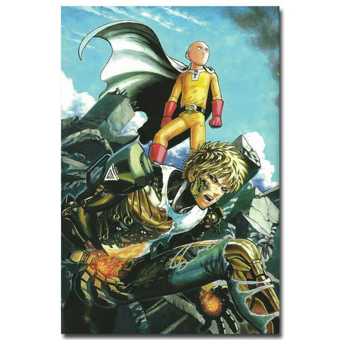 One Punch Man Silk Poster's