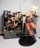 22CM Dragon ball Z Super Saiyan Son Goku & Bardock