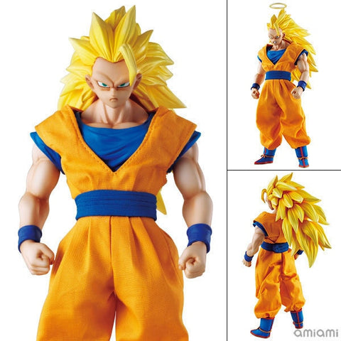 DOD Dimension of Dragon Ball Z Super Saiyan 3 Son Goku PVC Action Figure Collectible Model Toy 21cm KT3337