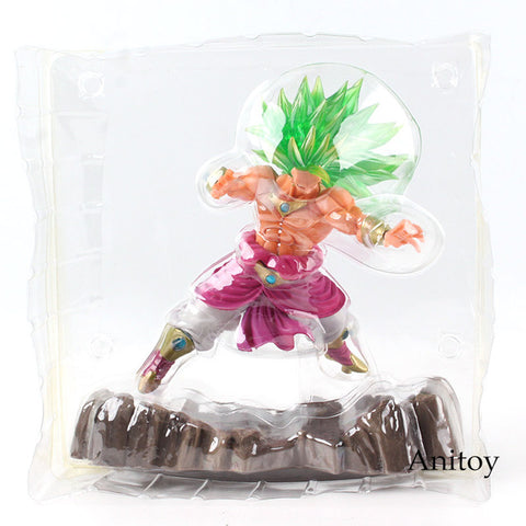 Dragon Ball Z Super Saiyan 3 Broly Figure PVC Dragon Ball Figure Action Collectible Model Toy 18cm