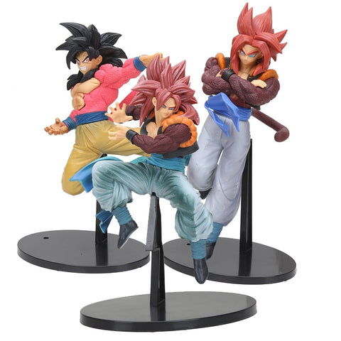 Dragon Ball Z Gogeta Dragon ball Super Saiyan 4 Gogeta PVC Action Figure Collectible Model Toy 20-22cm