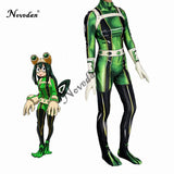 Anime My Hero Academia Asui Tsuyu Cosplay Costume