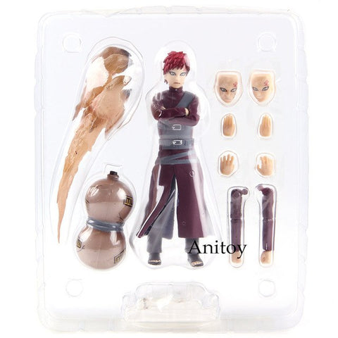 SHF S.H.Figuarts Figurine Naruto Shippuden Gaara Action Figures PVC Collectible Model Toy