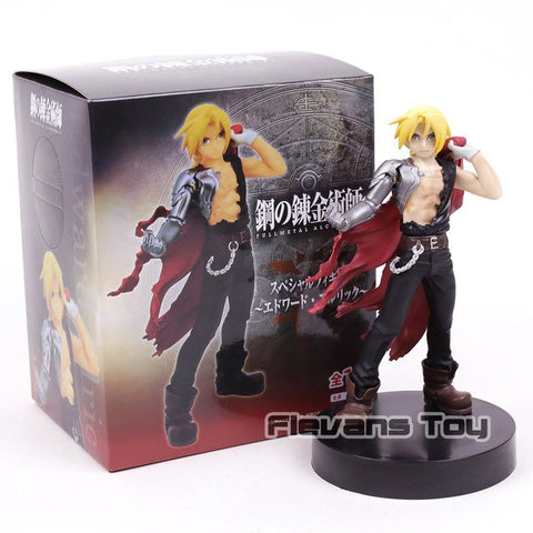 Fullmetal Alchemist Edward Elric PVC Figure Collectible Model Toy