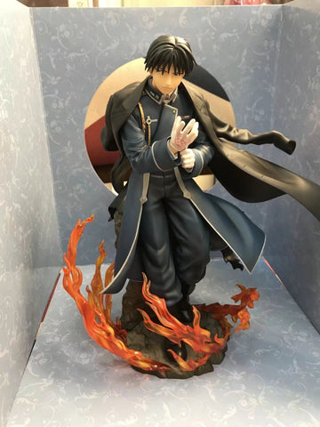 Huong Anime 21CM Fullmetal Alchemist Roy Mustang 1/8 Scale Pre-Painted Figure PVC Collectible Model Toy