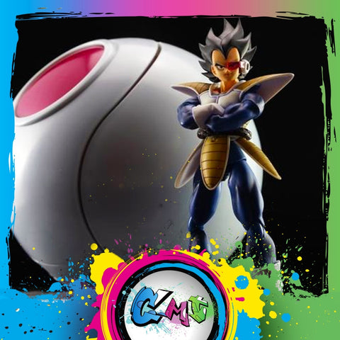 Dragon Ball Space Pod Action Figure Collectible Model Toy