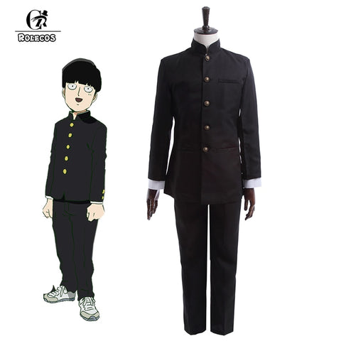 Mob Psycho 100 Kageyama Shigeo School Uniform Cosplay