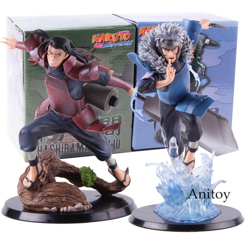 Hot Toy Anime Naruto Shippuden Hashirama Senju Tobirama Senju Action Figure Collectible Model Toy Gift
