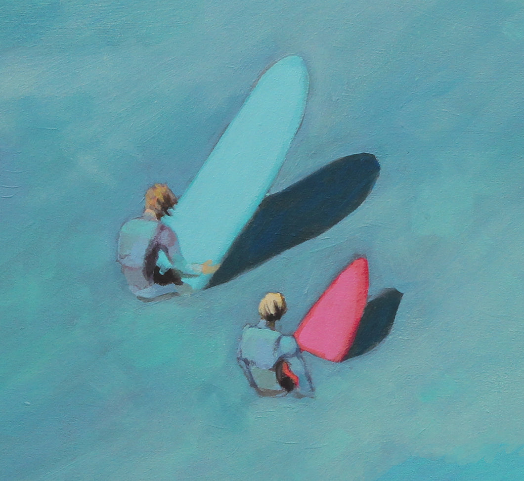 joe mcdonald artist surf painting