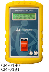 50% CO2 - 100% CH4 Sampling Logger and Draw Meter