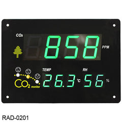 cSense Monitor Grande de Pared CO2, T y HR