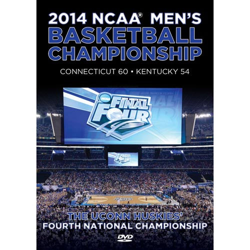 2014 NCAA® Division I UConn Huskies Men's Basketball National Championship Kentucky vs. Conneticut DVD