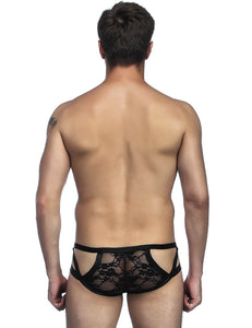 Leather And Lace Men's Underwear