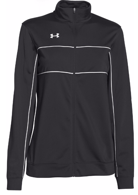 Under Armour Womens Rival Knit Warm Up Jacket