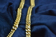 Load image into Gallery viewer, PREMIUM MIAMI CUBAN LINK CHOKER BUNDLE - GOLD 18K (10MM)