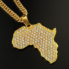 Load image into Gallery viewer, AFRICA PENDANT GOLD 18K