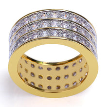 Load image into Gallery viewer, RING ICED OUT GOLD 18K DIAMOND