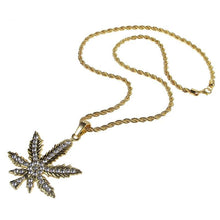 Load image into Gallery viewer, PENDANT NECKLACE MARY JANE GOLD 18K DIAMOND