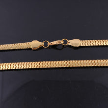 Load image into Gallery viewer, SNAKE NECKLACE GOLD 14K