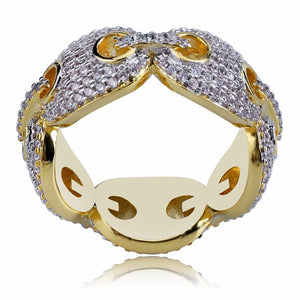 GUCCI RING GOLD 18K DIAMOND