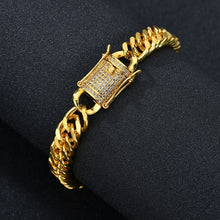 Load image into Gallery viewer, CUBAN LINK BRACELET GOLD 18K