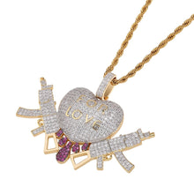Load image into Gallery viewer, PENDANT FOR LOVE GOLD 18K DIAMOND
