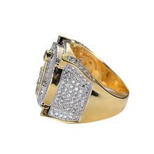 Load image into Gallery viewer, RING MASONIC GOLD 18K DIAMOND