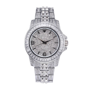 WATCH WHITE GOLD 18K DIAMOND QUARTZ