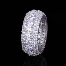 Load image into Gallery viewer, LUXURY ICED OUT RING WHITE GOLD 18K