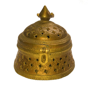 Brass Jewellery Box