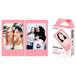 Combo | Filme Fujifilm Instax Mini Pink Lemonade 10 Fotos + Mini Macaron 10 Fotos + Mini Comic 10 Fotos