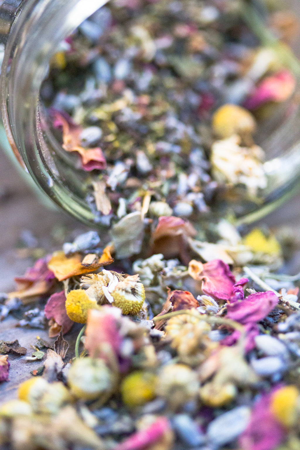 Floral Bath Tea: Relaxing Blend