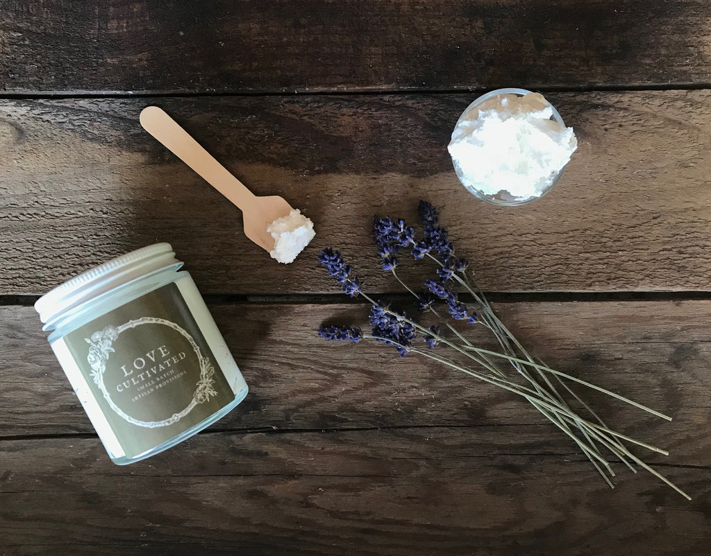 Lavender Patchouli Whipped Body Butter