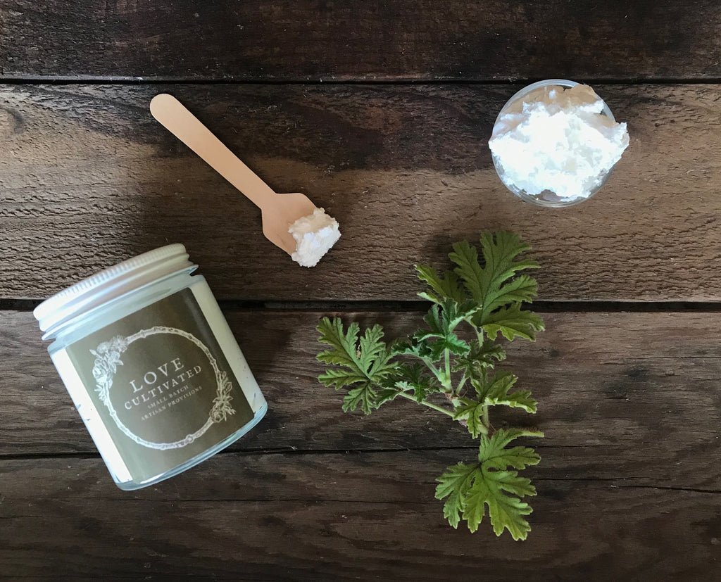 Rose Geranium Patchouli Whipped Body Butter
