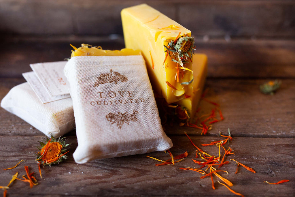 Farm Carrot & Sweet Orange Goat Milk Soap