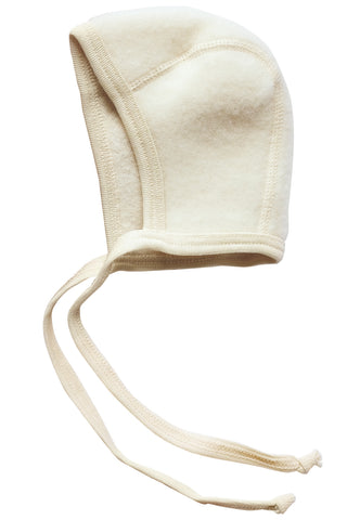 Engel Natur Organic Wool Fleece Baby Bonnet