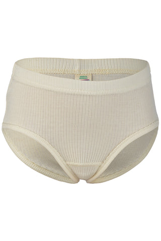 Engel Girls' 100 % Organic Undyed Cotton Underwear
