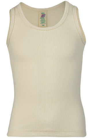 Engel Girls' 100% Organic Cotton S/L Undershirt