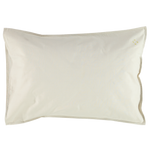 Camomile London Organic Cotton Solid Standard Pillow Case