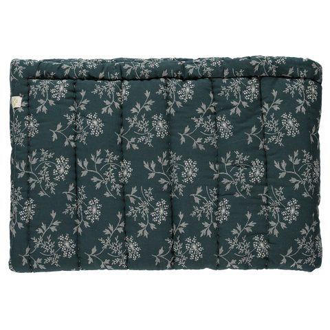 Camomile London Hanako Floral Twin Blanket