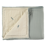 Camomile London Reversible 2 time Crib blanket