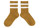 Collégien Nico Varsity Retro Stripe Rib Socks