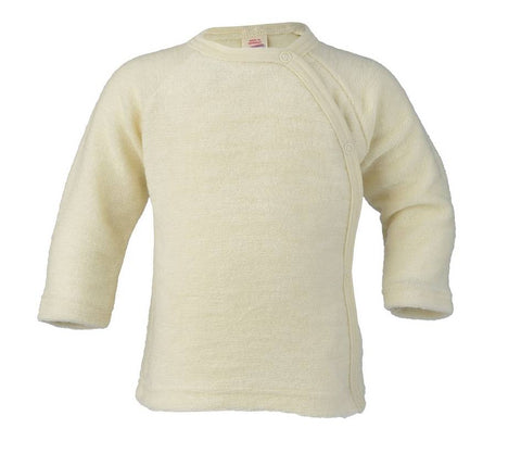 Engel 100% Organic Cotton Terry Sweater w Snaps