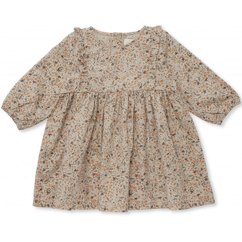 Konges Sløjd Izi Flower Print Organic Cotton Dress